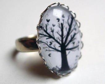 Ring, the tree of hearts BA116