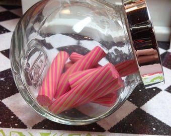 American Girl Our Generation 18 Inch Doll Large Glass Candy Jar of Faux Candy Sticks