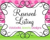 RESERVED LISTING FOR Pam Szabo