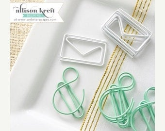 HAPPY Webster's Pages Paper Clips Envelopes and & Symbols