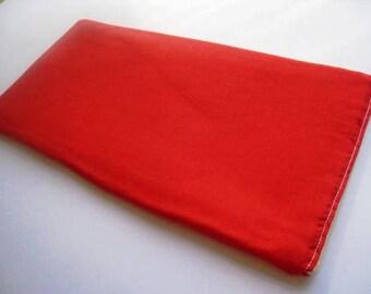 All Red-  Apple Magic Keyboard Sleeve, Apple Keyboard Case, Samsung Wireless Keyboard Sleeve - Padded and Zipper Closure