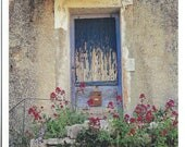 Provence Postcard - Faded Blue Door PSS 3252
