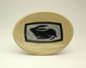 Rabbit- little oval dish- Ruchika Madan