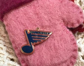 REAL MLH Vintage dated 1993 St Louis Blues Hockey Charm