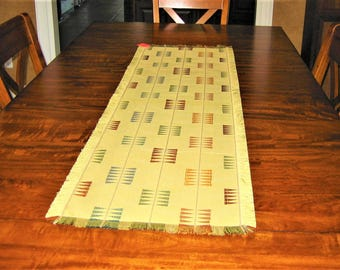 Light Olive Green Table Runner