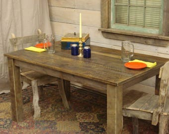 """Farmhouse Table (42"""" x 34"""" x 30""""H) (Custom Request New picts soon)"""