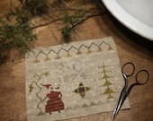 Christmas Folk ~ cross stitch pattern from Notforgotten Farm™ ~ PDF/DOWNLOAD