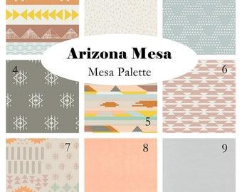 Custom Crib Bedding-Arizona After- Mesa palette