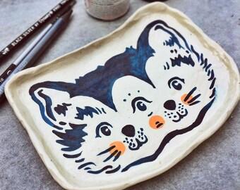 Cat Ring Dish 110mm