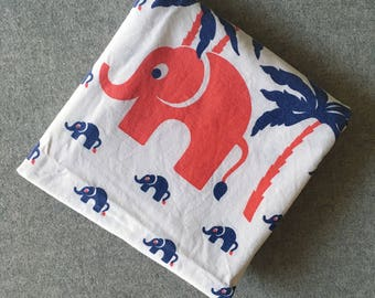German 70's childrens pillow case