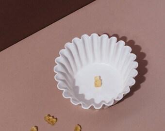 50% OFF - SECONDS SALE - Ceramic Coffee Filter Bowl, Large