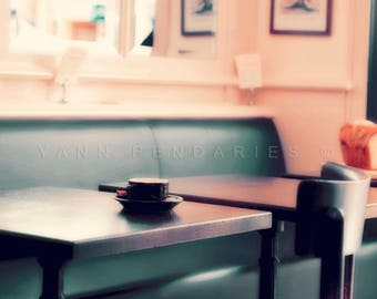 Paris photography, French decor, kitchen decor, Coffee print, French country decor, french cafe, Paris decor, Paris Photo, parisian cafe