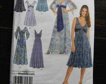 Simplicity Dress Pattern # 3785, Uncut Multisized