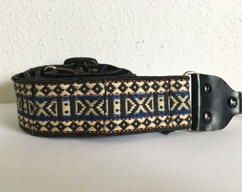 Vintage Soft Woven 70's Hippie Camera Strap for SLR cameras