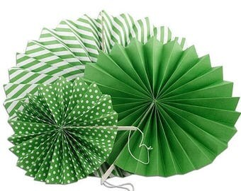 New Years Sale 3 Piece Spiral Fan Set Party Decor Supplies Many colors to choose from