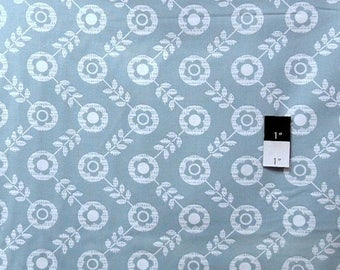 CLEARANCE SALE Erin McMorris OCEM007 Flora Dots Dark Gray Laminate Fabric By Yd