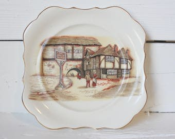 Sandland Ware The Jolly Drover Collectible Plate