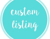 Custom order for msveneziale