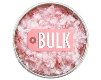 Light Pink Edible Glitter BULK - sparkly pastel pink glittery sprinkles for cakes, cupcakes, and cookies