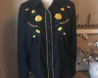 Vintage Roper Embroidered Shirt