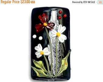ON SALE 30% off Maria's Bouquet Kalera Focal Bead - Handmade Glass Lampwork Beads 11833303