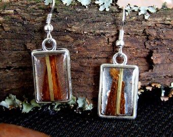 Industrial Woodland Earrings