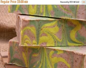 SALE Ginger Lime Goats Milk Soap