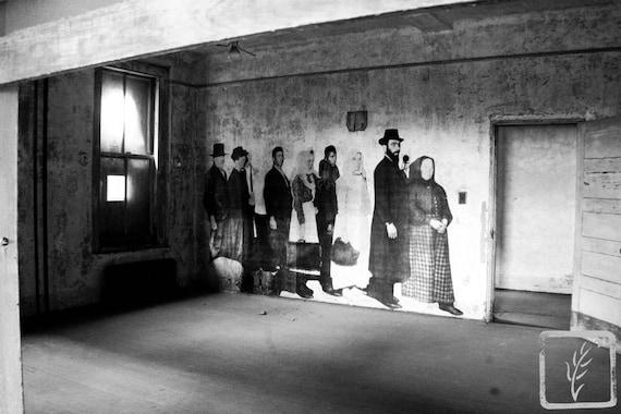 """Timeless Queue,"" Ellis Island Immigrant Hospital, New Jersey, 2017."