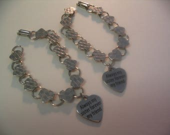 Always My Sister Forever Friend Bracelets  Jewelry Gift