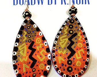Afrocentric Drops Earrings