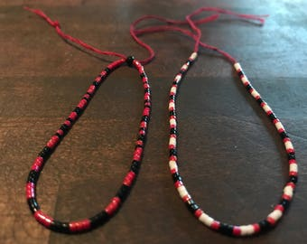 Japanese Seed Bead Beacelet Set of Two