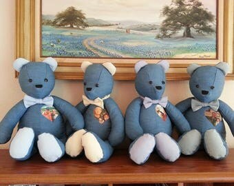 Forget-Me-Not Memory Bears