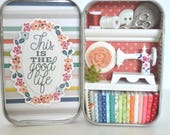 Tiny Tin Sewing Room ~ This is the Good Life