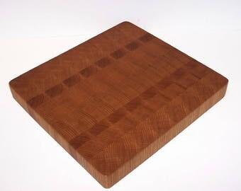 OOAK END GRAIN Cutting Board / Chopping Block Handcrafted from Oak  Hardwoods