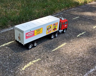Vintage Nylint tractor trailer truck True Value Hardware store semi advertisement toy