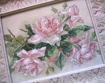 Catherine Klein, Roses, Print, Art Print, Large Size, Frame, Shabby Chic, C Klein, Rose