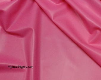 Fashion Grade Vibrant Bright Pink Latex Sheeting .45mm gauge Sold by-the-yard