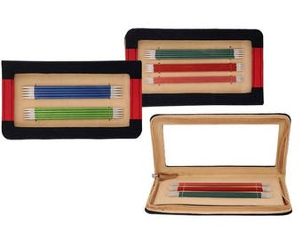Knitpro Zing 20cm DPN Set - Double Point Needle Set with Case