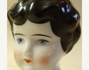 ONSALE Antique Gorgeous Porcelain Doll Head