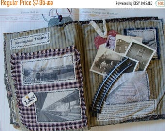 ONSALE Vintage RailRoad Tracks for Altered art and Assemblage
