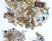 TOUCHES de beaucoup de métier, Large et petites touches, bagages clés et serrures, Steampunk - plus 3 kg