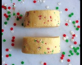 Christmas Cookies Bath Truffle - Bath Truffle - Bath Cookie - Moisturizing Bath Truffle - With Cocoa and Shea Butters