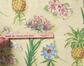 Tropical Fabric 3 66yd Indoor Outdoor Home Decor Fabric 4 Pillow Covers Totes Boca Botanical Waverly