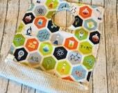 Chemistry Baby Gift Science Themed Big Bib Snap Pocket Geekily Chic Periodic Table 1st Birthday Boy First Birthday Boy Bib First Birthday