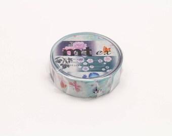 yukata patterns - mt ex washi masking tape - 15mm x 10m x 1 roll