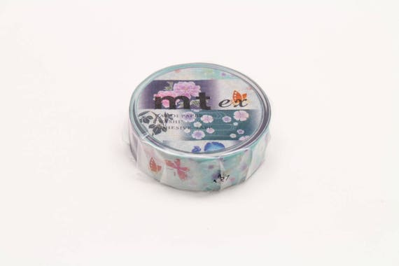 yukata patterns - mt ex washi masking tape - 15mm x 10m x 1 roll