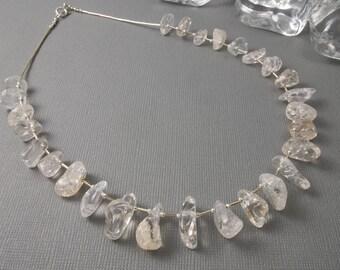 Quartz Sterling Silver Necklace