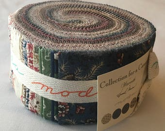 RARE Warmth CollectionFor a Cause Jelly Roll Howard Marcus Out of Print Fabric Strips Quilting Reproductions Civil War Floral piecesofpine