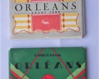 2 Vintage Miniature Photo Orleans France Packs Yvon & Vogue Ed.