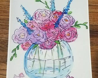 Jar Full of Spring Print by Jessika Gallop